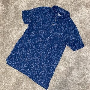 Mossimo Men's Patterned Polo Shirt